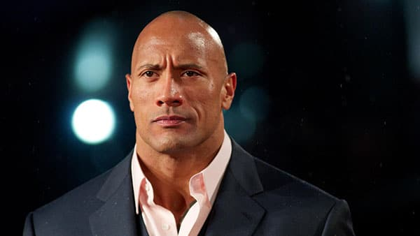 the rock bald