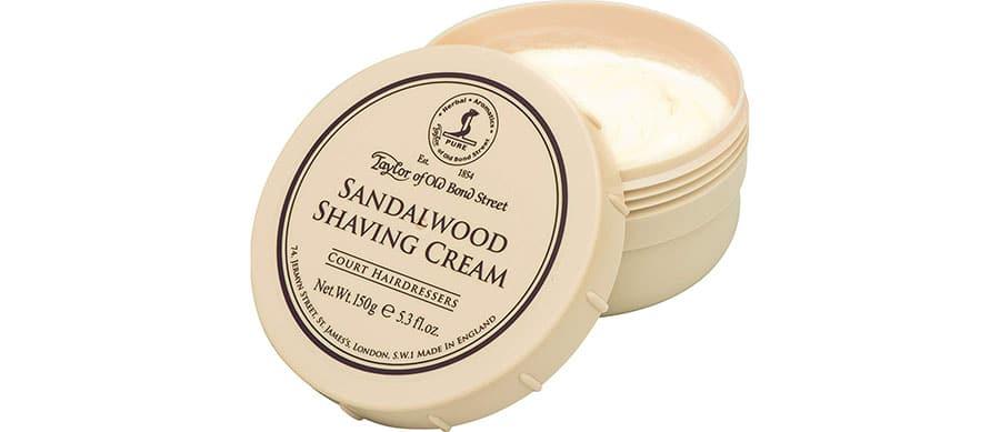 taylor shaving cream