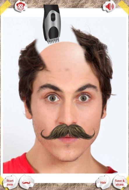 make me bald app