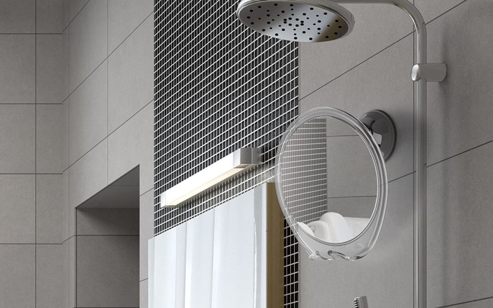 shower mirror designs