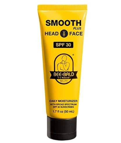 bee bald moisturizer