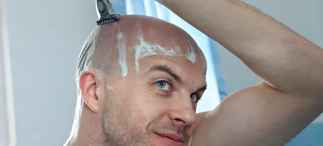 head shaving cover
