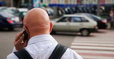 shiny bald head